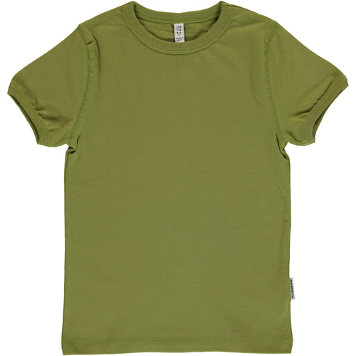 Maxomorra Apple Green Short Sleeved Top