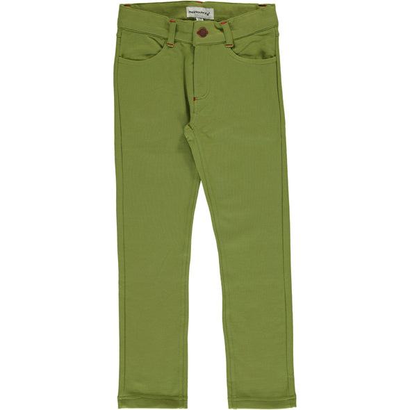 Maxomorra Apple Green Softpants