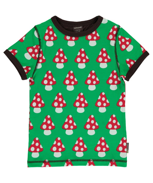 Maxomorra Classic Mushroom Short Sleeved Top