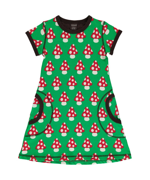 Maxomorra Classic Mushroom Short Sleeved Dress
