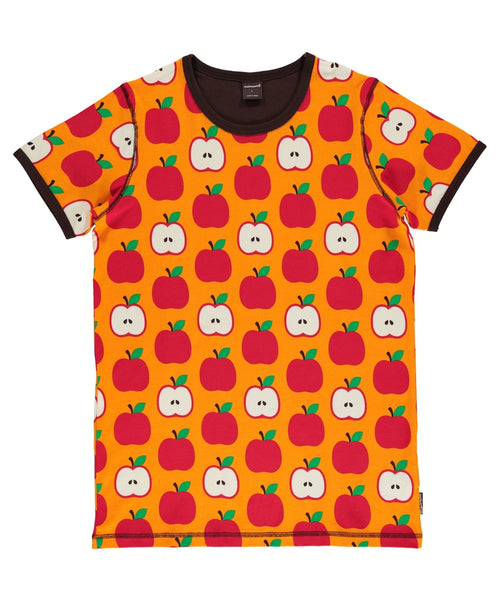 Maxomorra Classic Apple Short Sleeved Top-  Adult