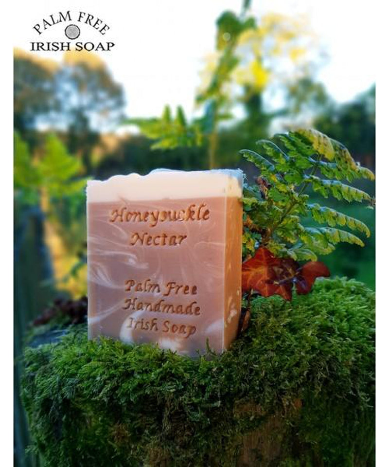 Palm Free Irish Soap Bar Honeysuckle Nectar