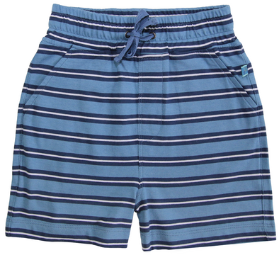 Enfant Terrible Striped Petrol/Navy Jersey Shorts