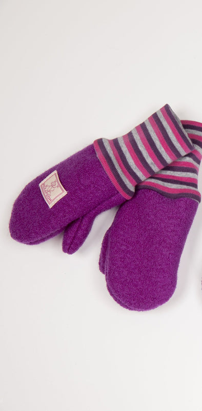 Pickapooh Walki Walk Mittens Orchid