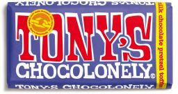Tony's Chocolonely Pretzel Toffee Dark Milk Chocolate 42% 180g