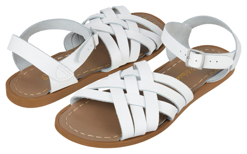 Salt-Water Sandals Retro White  - adult