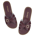 Salt-Water Sandals Classic Slide Claret - adult
