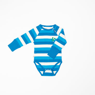Alba Kay Body - Snorkel Blue Stripes