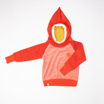 Alba Habian Hoodie - Spicy Orange
