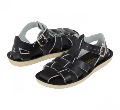 Salt-Water Sandals Shark Black - child