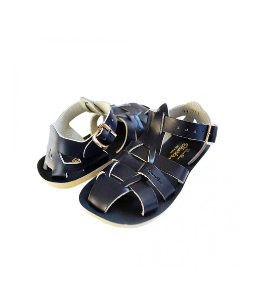 Salt-Water Sandals Shark Navy - child