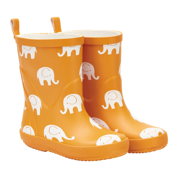 Celavi Mineral Yellow Elephant Rubber Wellies