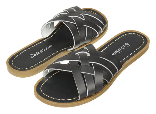 Salt-Water Sandals Retro Slide Black - adult