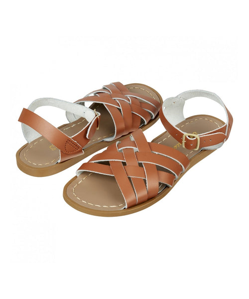 Salt-Water Sandals Retro Tan - adult