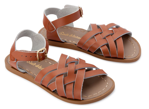 Salt-Water Sandals Retro Tan - child