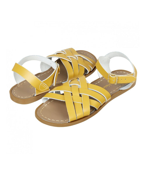 Salt-Water Sandals Retro Mustard - adult