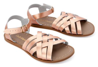 Salt-Water Sandals Retro Rose Gold - child