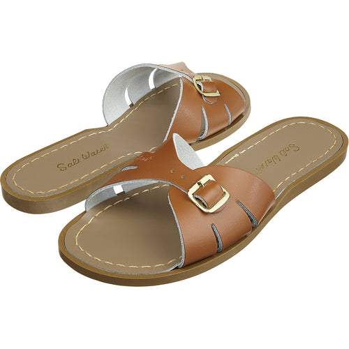 Salt-Water Sandals Classic Slide Tan - adult