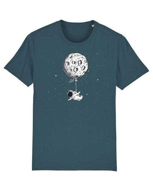 Wat? Apparel Men's Funny Spaceman T-Shirt Stargazer