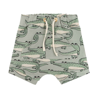 Dear Sophie Crocodile Mint Shorts