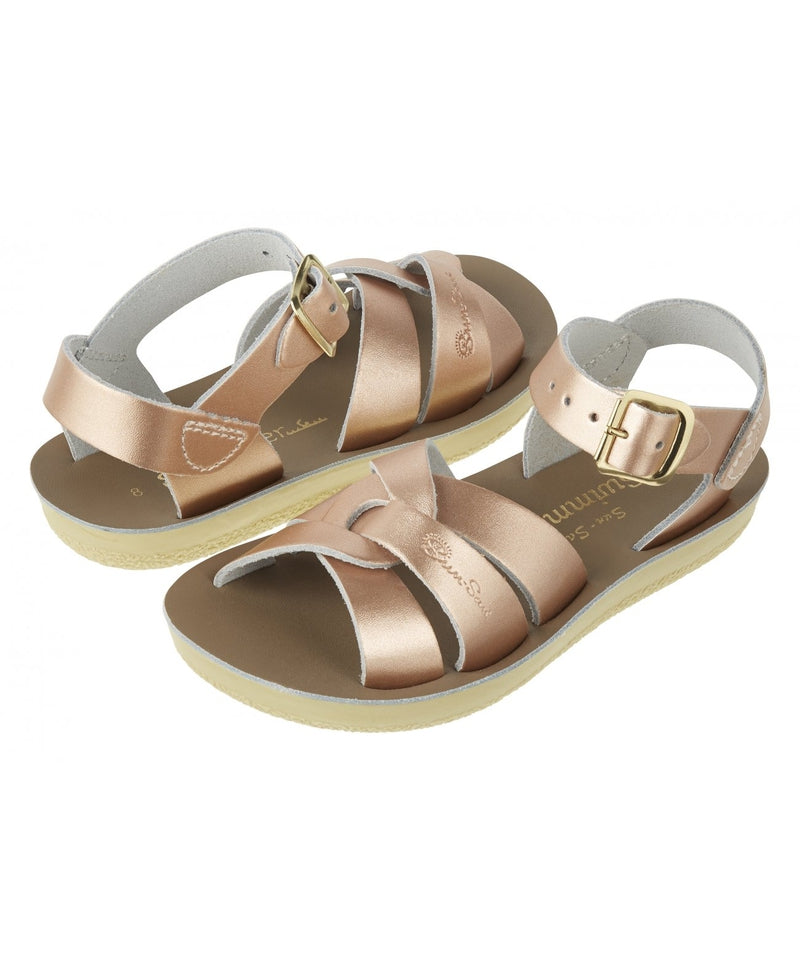 Salt-Water Sandals Swimmer Rose Gold - child