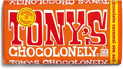 Tony's Chocolonely Sea Salt Caramel 180g