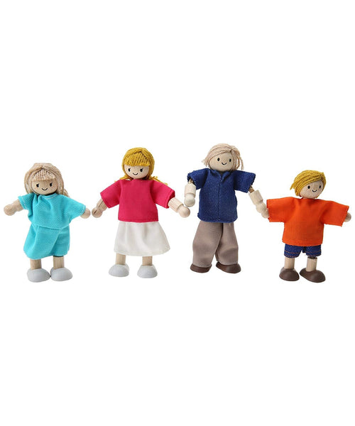 Plan Toys Doll Family - Caucasian