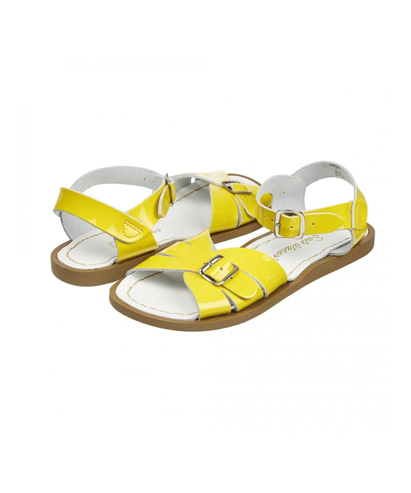 Salt-Water Sandals Classic Shiny Yellow - adult