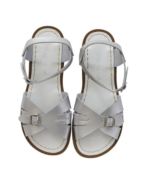 Salt-Water Sandals Classic Silver - child