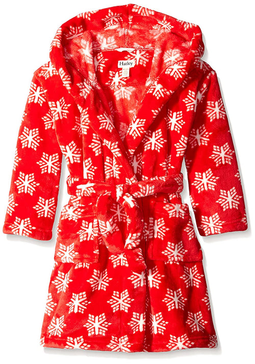 Hatley Snowflakes Fleece Robe