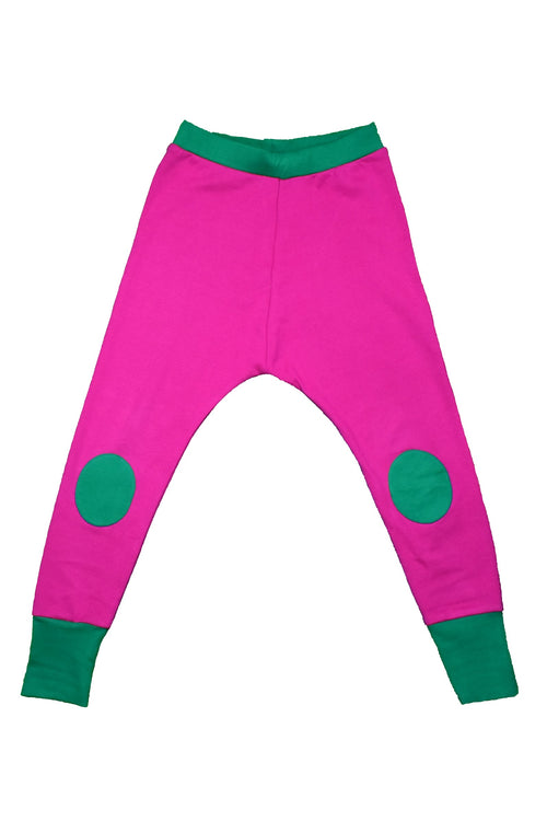 Moromini Pink/ Green Waste Pants