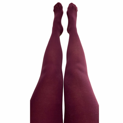 Slugs and Snails Adult Block Colour Tights - Purple