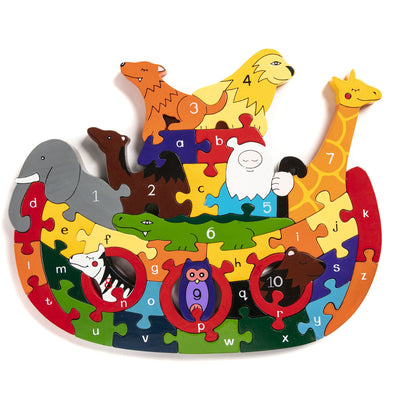 Alphabet Jigsaws Noah's Ark