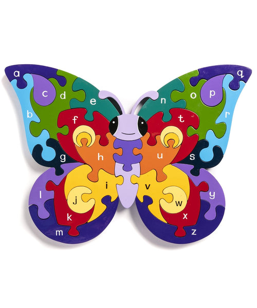 Alphabet Jigsaws Alphabet Butterfly