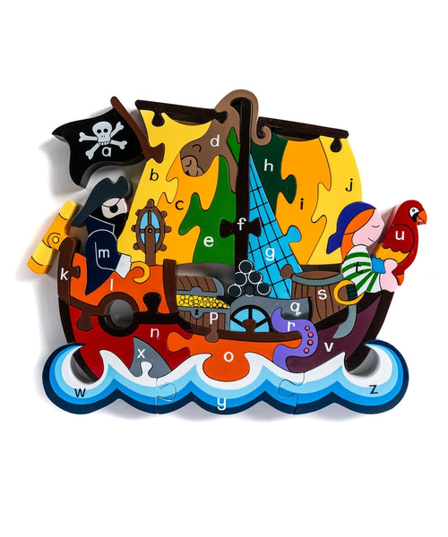 Alphabet Jigsaws Pirate Ship