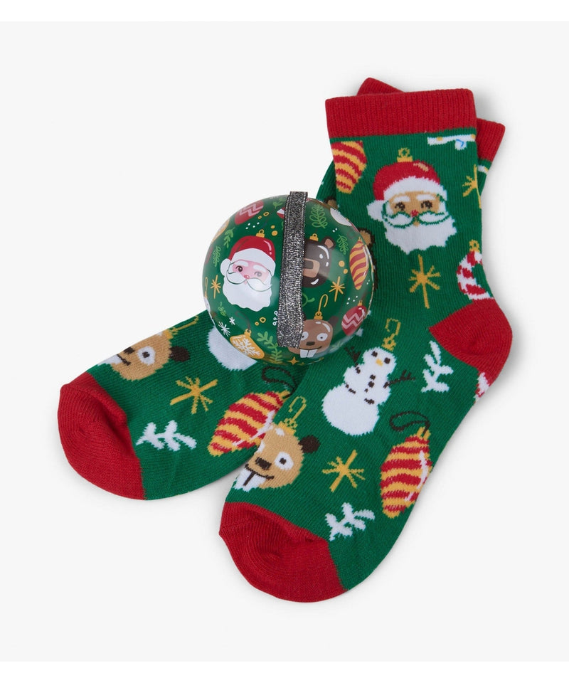 Hatley Holiday Ornaments Socks in Balls - Kids