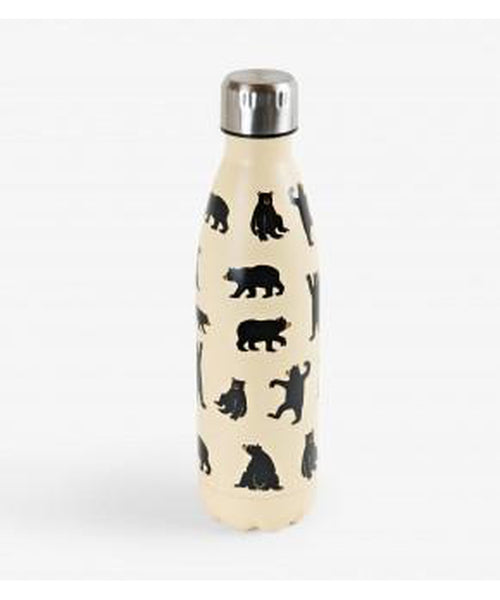 Hatley Little Blue House Black Bears Insulated Bottle