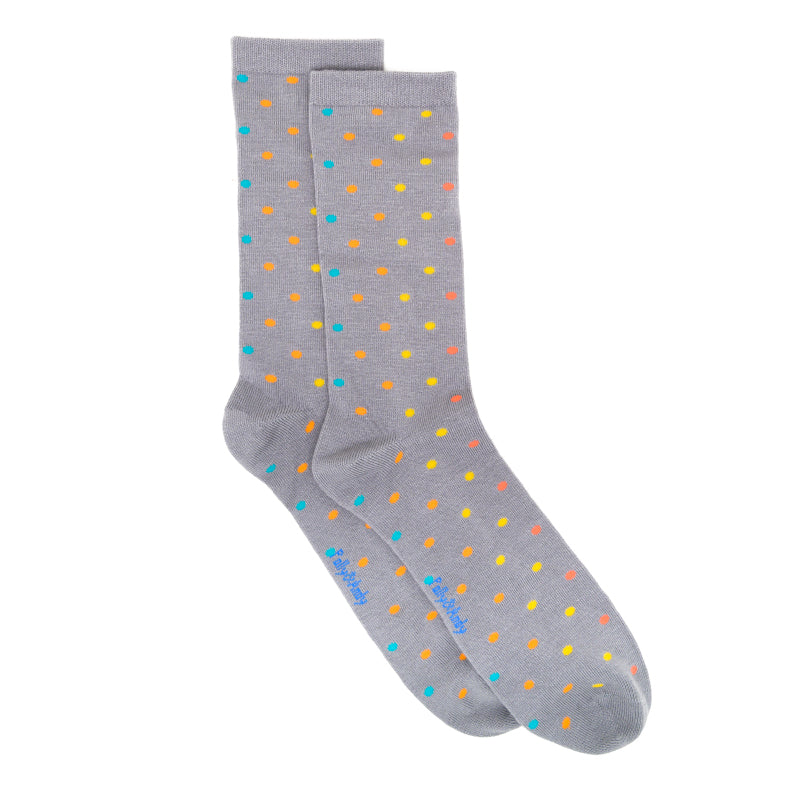 Polly & Andy Bamboo Seam Free Dots Socks- Adult Sizes