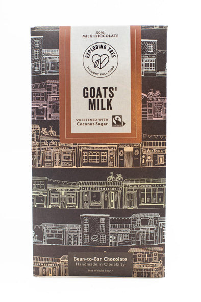 Exploding Tree Goats' Milk Chocolate Bar - 60g
