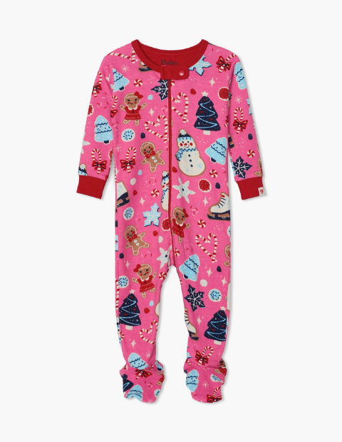 Hatley Sugar Rush Organic Cotton Footed Sleepsuit