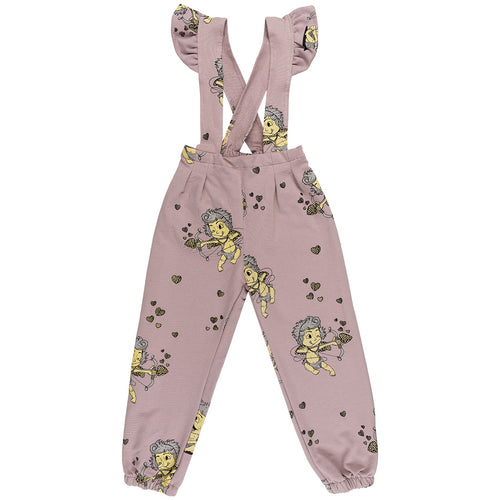 Jelly Alligator Cupid's Arrow Overalls