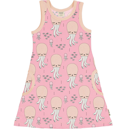 Meyadey Cute Squid Sleeveless Dress