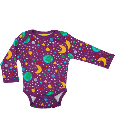 DUNS Mother Earth Bright Violet Bodysuit