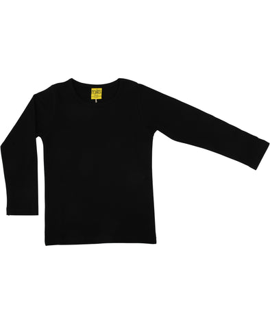 DUNS More Than A Fling Black Long Sleeved Top - Adult Sizes