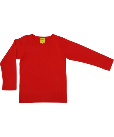DUNS More Than A Fling Red Long Sleeved Top - Adult Sizes