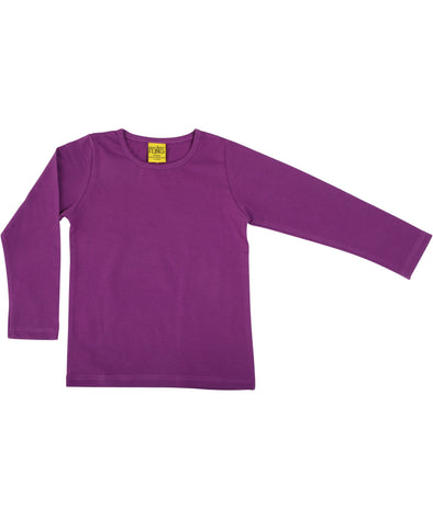 DUNS More Than A Fling Violet Long Sleeved Top - Adult Sizes