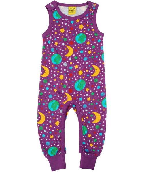 DUNS Mother Earth Bright Violet Dungarees