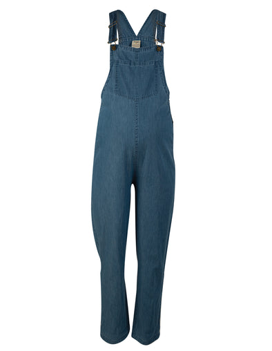 Frugi Bloom Chambray Constantine Dungaree - Maternity & Nursing