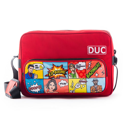 DUC Comic Messenger Bag