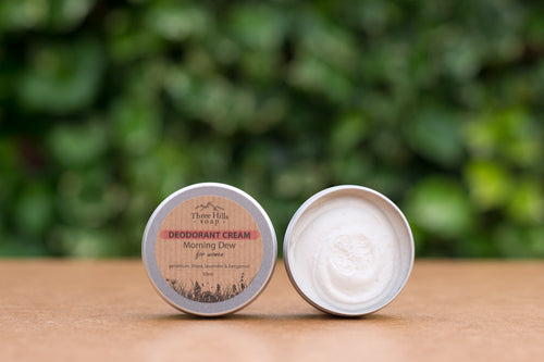 Three Hills Morning Dew Deodorant Cream
